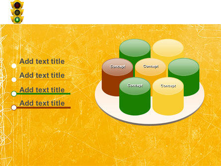 Traffic Light PowerPoint Template Slide 12