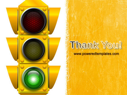 Traffic Light PowerPoint Template Slide 20