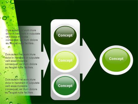 Green Curtain PowerPoint Template Slide 11