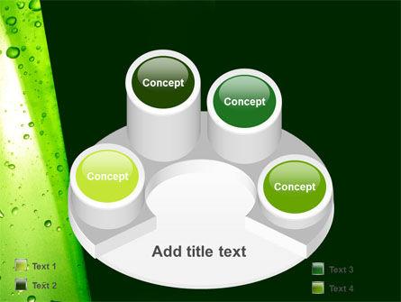Green Curtain PowerPoint Template Slide 12