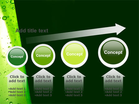 Green Curtain PowerPoint Template Slide 13
