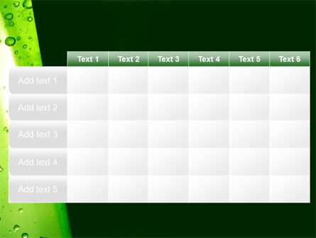 Green Curtain PowerPoint Template Slide 15