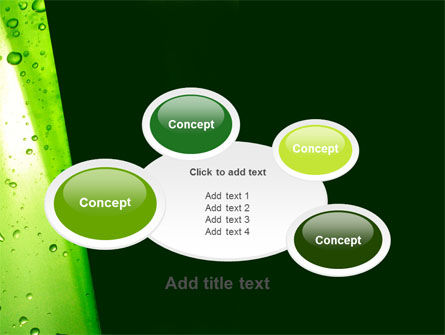 Green Curtain PowerPoint Template Slide 16