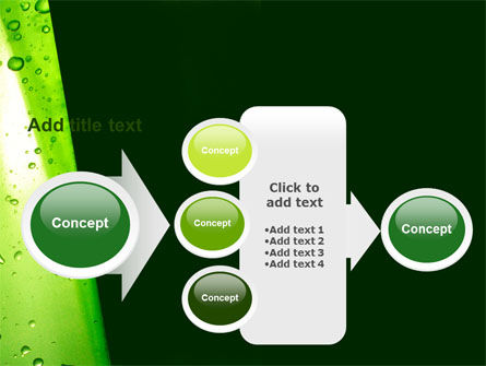 Green Curtain PowerPoint Template Slide 17