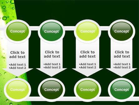 Green Curtain PowerPoint Template Slide 18