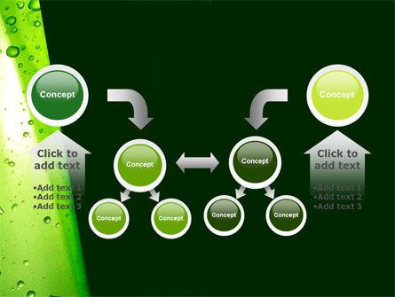 Green Curtain PowerPoint Template Slide 19