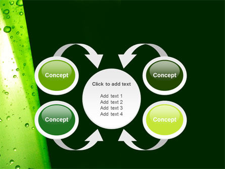 Green Curtain PowerPoint Template Slide 6