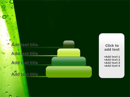 Green Curtain PowerPoint Template Slide 8