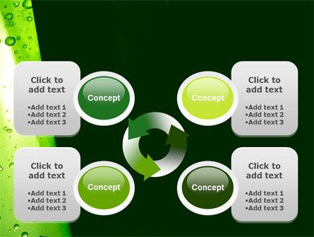 Green Curtain PowerPoint Template Slide 9