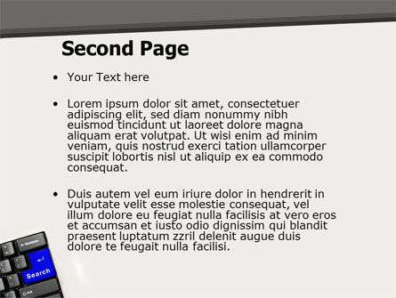 Web Search PowerPoint Template, Slide 2, 05303, Computers — PoweredTemplate.com