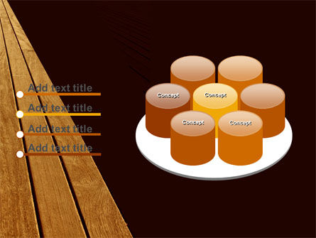 Wooden Floor PowerPoint Template Slide 12