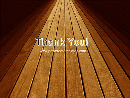Wooden Floor PowerPoint Template Slide 20