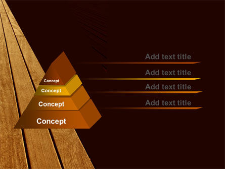 Wooden Floor PowerPoint Template, Slide 4, 05304, Abstract/Textures — PoweredTemplate.com