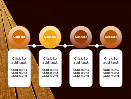 Wooden Floor PowerPoint Template Slide 5
