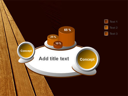Wooden Floor PowerPoint Template Slide 6