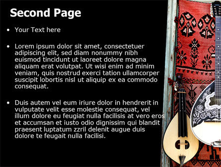 Greek Musical Instruments PowerPoint Template Slide 2