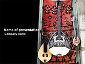 Art & Entertainment: Greek Musical Instruments PowerPoint Template #05306