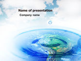 Nature & Environment: Precipitations PowerPoint Template #05307