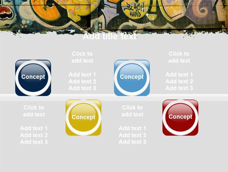 Graffiti On The Wall PowerPoint Template Slide 19