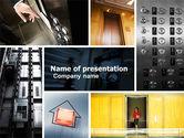 Construction: Hoist PowerPoint Template #05309
