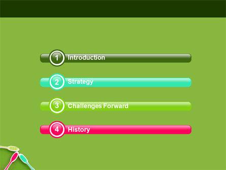 Toothbrush PowerPoint Template, Slide 3, 05310, Medical — PoweredTemplate.com