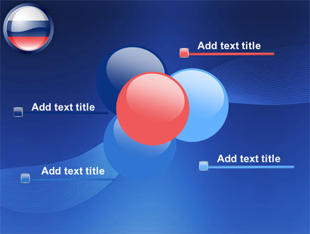 Russian Flag PowerPoint Template Slide 10