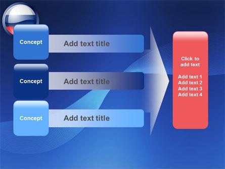 Russian Flag PowerPoint Template Slide 12