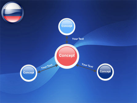 Russian Flag PowerPoint Template Slide 15