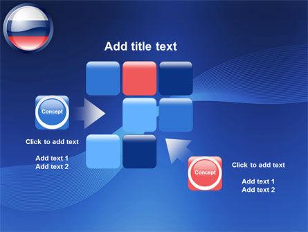 Russian Flag PowerPoint Template Slide 16