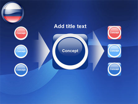 Russian Flag PowerPoint Template Slide 17