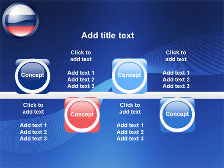 Russian Flag PowerPoint Template Slide 19