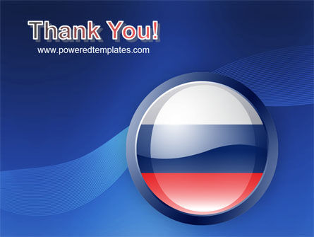Russian Flag PowerPoint Template Slide 20