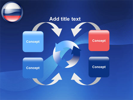 Russian Flag PowerPoint Template Slide 6