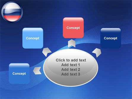 Russian Flag PowerPoint Template Slide 7
