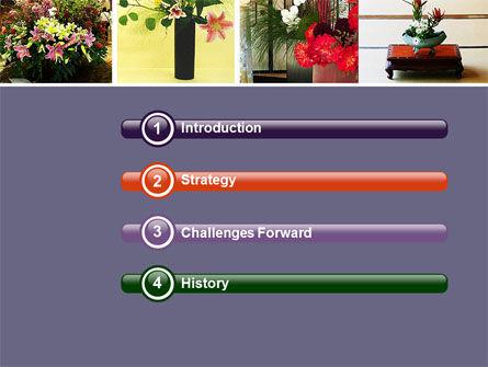 Ikebana Free PowerPoint Template Slide 3