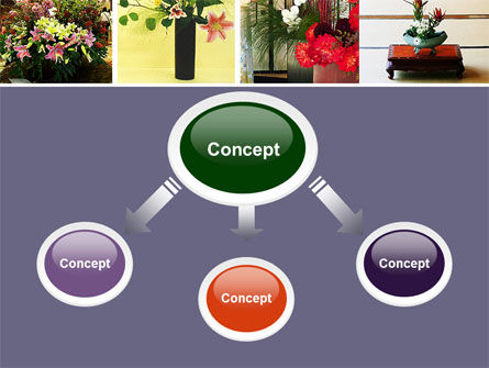 Ikebana Free PowerPoint Template Slide 4