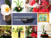 Careers/Industry: Ikebana Free PowerPoint Template #05315