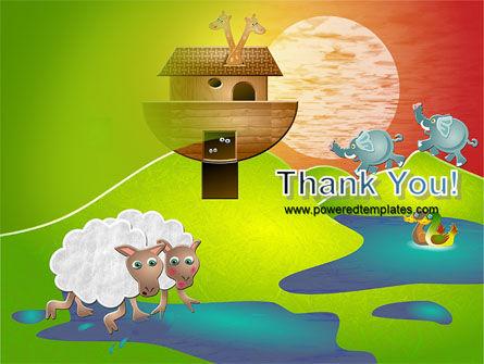 Noah's Ark Free PowerPoint Template Slide 20