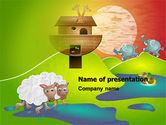 Education & Training: Noah's Ark Free PowerPoint Template #05316
