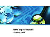 Global: 医療の世界 - PowerPointテンプレート #05318