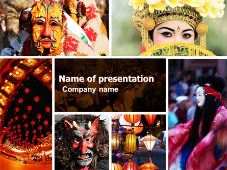 Holiday/Special Occasion: Festivals PowerPoint Template #05319