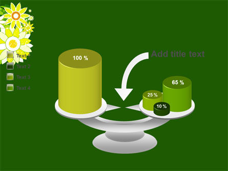 Blooming Frame PowerPoint Template Slide 10