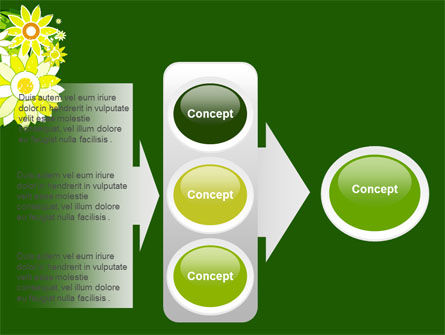 Blooming Frame PowerPoint Template Slide 11