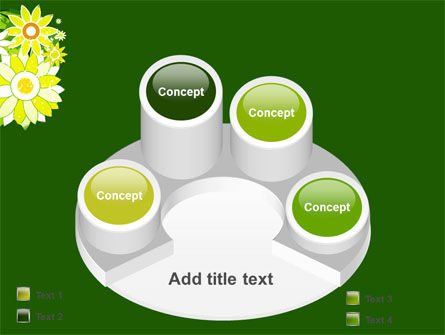Blooming Frame PowerPoint Template Slide 12