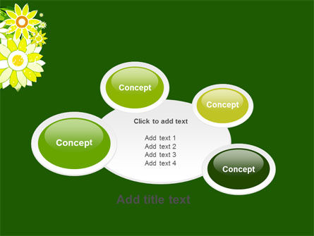 Blooming Frame PowerPoint Template Slide 16