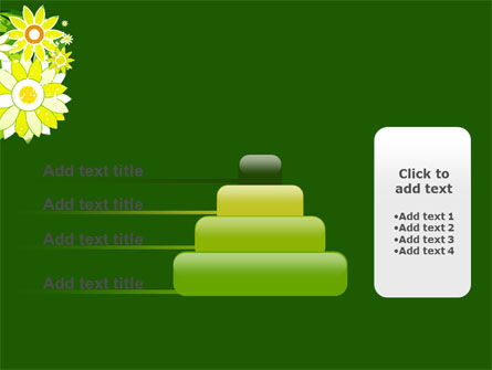 Blooming Frame PowerPoint Template Slide 8