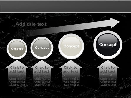 Star Map PowerPoint Template Slide 13