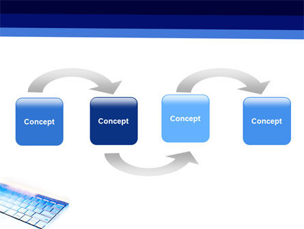Laptop Keyboard PowerPoint Template, Slide 4, 05326, Computers — PoweredTemplate.com