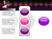 Party Girl PowerPoint Template#11