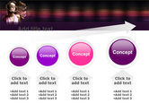 Party Girl PowerPoint Template#13